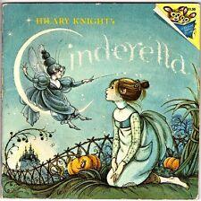 Vintage Children's Pictureback Book Hilary Knight's CINDERELLA 1978 1st Printing