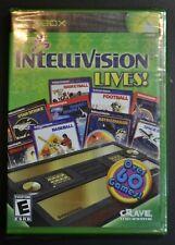 INTELLIVISION LIVES! - Microsoft Xbox - Brand NEW & still factory SEALED Crave