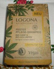 Logona (Naturkosmetik), Bio, festes Pflege-Shampoo, 60 g, Vegan, Neu