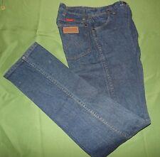 Ladies Blue Wrangler Jeans size 7 x  34 14mwzg