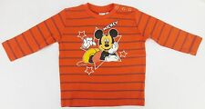 Disney Striped 100% Cotton Clothing (0-24 Months) for Boys