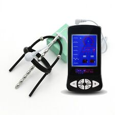 Electro Shock E-Stim Stainless Steel Urethral Dilator With adjustable Glans Ring