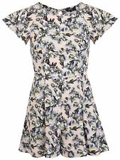 Miss Selfridge Petite Floral Multicoloured Playsuit Size 8 - Brand New!