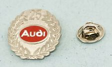 Audi Pin 25 Years Red Enamelled - Dimensions 24mm