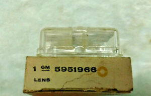 PARKING LAMP LENS 1961 CHEVROLET 5951966 F1-61 GR 2.589  FREE DOMESTIC SHIPPING