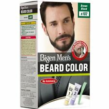Bigen Men's Beard Color Brownish Black B102 (20g+20g)