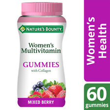 Nature's Bounty Women's Multivitamin Gummies with Collagen - Mixed Berry - 60 Pk