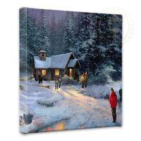 Thomas Kinkade Christmas Miracle 14 x 14 Gallery Wrapped Canvas