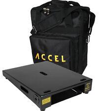Accel XTA10 Pro Compact Pedal Board (Black) & Tote