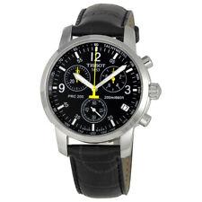 DHL Express Tissot PRC200 Chronograph T17.1.526.52 Black Dial Men's Watch New