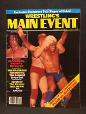 Wrestling Main Event Magazine December 1982 WWE WWF WCW NWA AWA Pro Illustrated