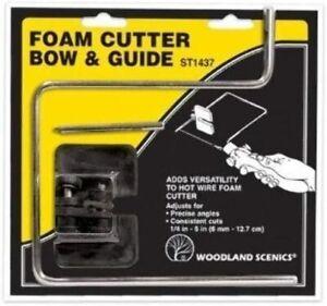 Woodland Scenics ST1437 Foam Cutter Bow & Guide - Open Box