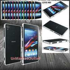 Love Mei 0.7mm Ultra Thin Aluminum Hard Bumper Case Sony Zperia Z1 L39H/Honami