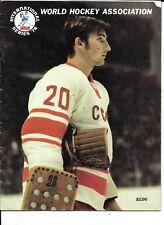 1978 WHA-Soviet National Team International Series Program NICE!!