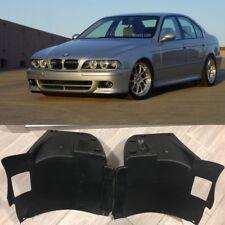 BMW E39 M5 L+R  PP plastic FRONT form M BUMPER SPLASH PANEL LINER TRIM FENDER