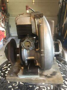 Skidoo Elan Rotax motor