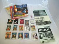 Heroquest Warhammer Wizard Morcar Cards Darkness,Detection, Treasure, Protection
