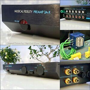 MUSICAL FIDELITY PREAMP 3A-X MK3+,Stereo,Phono,Vorverstärker Modifi. ALPS,Rar!
