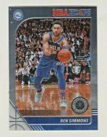 2019-20 Panini NBA HOOPS PREMIUM STOCK #144 BEN SIMMONS Philadelphia 76ers