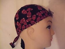 New Red Devil on Black Shaped Bandana / Zandana
