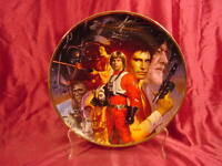 New In Box Star Wars Trilogy Hamilton Plate ~ #1586E Certificate of Authenticity