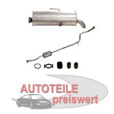 Endschalldämpfer+Katalysator Peugeot 106 Auspuff NEU