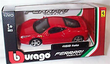 Ferrari 458 Italia in Red 1-43 Scale Burago new in box