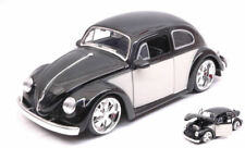 Volkswagen VW Beetle 1959 Light Black / Cream 1 24 Model Jada Toys