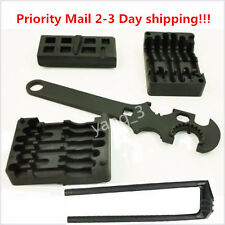HOT!!! 4 Pc M4/AR15 223/556 Upper & Lower Vise Block Wrench Armorer Tool Kit