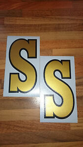 VESPA SS VINYL DECALS FITS LEGSHIELD/FLY SCREEN CLASSIC STYLE (Not Printed)