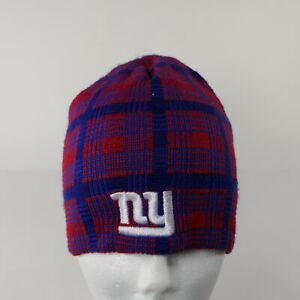 NY Giants NFL Knitted Hat Beanie Cold Weather Winter Mens Womens Unisex Cap