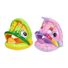 Baby Kid Inflatable Ring Seat Chair Infant Whale Water Pool Toy Swimming Ride On