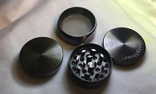 "Authentic SharpStone 1.5"" Inch Silver Herb Tobacco Small Silver 4 piece Grinder"