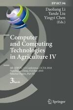 Computer and Computing Technologies in Agriculture IV : 4th IFIP TC 12...