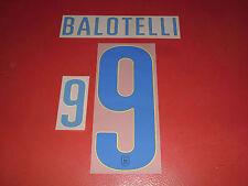 FLOCAGE OFFICIEL BALOTELLI ITALIE AWAY 2014-2016