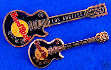 LOS ANGELES PROTOTYPE SAMPLE BLACK GIBSON LES PAUL GUITAR Hard Rock Cafe PINS
