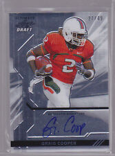 2011 Leaf Ultimate Draft Metal #UGC1 Graig Cooper Auto 27/49