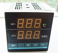 TH20 85-256V AC 48x48mm Digital Temperature Humidity Control Controller + Sensor
