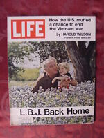 LIFE May 21 1971 LYNDON JOHNSON LBJ RYAN O'NEAL +++