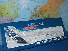 1/200 SKYMARKS HOUSE  COLORS AIRBUS A380-800 W/GEAR AIRCRAFT MODEL *BRAND NEW*