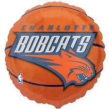 Charlotte Bobcats Basketball Foil Balloon Licensed Tailgate Birthday