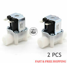 "2PCS 1/2"" 12V DC Electric Solenoid Valve, Normally Close, N/C,water etc"
