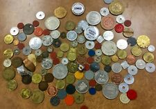 {BJSTAMPS} Lot of 120 FUN Tokens : tax, transp. Ration, casino, political, amuse
