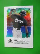 """MICHAEL JORDAN - 1999 Upper Deck SP """"Minor Memories"""" Baseball  card """"MJ3"""""""
