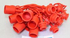 10 Staubschutz Hydraulik Kupplung Stecker Muffe BG3 rot Schutzkappe Schutz Gr. 3