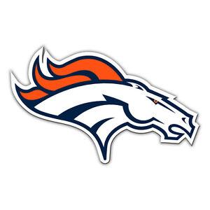 NFL Denver Broncos 12 inch Auto Magnet Die-Cut Right Facing Logo by Fremont Die