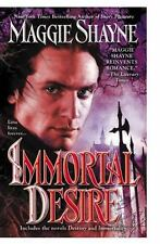 Immortal Desire by Maggie Shayne SC new