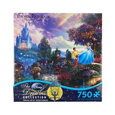 Thomas Kinkade Disney Dreams Cinderella Wishes Upon A Dream 750 Piece Puzzle