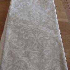 MASSIVE REMNANT Vilber Ikat Pale Grey Fabric - Approx 137cm x 2.2M