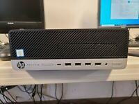 HP ProDesk 600 G3 SFF i5-6500 3.2GHz 8GB DDR4 RAM 240GB SSD Windows 10 Pro SPK c